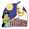Disney Love Is An Adventure Pin - Love Is Trust - Aladdin And Jasmine
