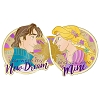 Disney Love Is An Adventure Pin - Love Is Light - Rapunzel and Flynn