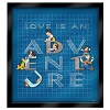 Disney Love Is An Adventure Pin - Building Our Adventure - 4 Pin Frame Set