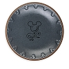 Disney Dinner Plate - Mickey Icon - Grey and Tan