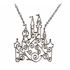 Disney Necklace - Rebecca Hook - Castle Scroll - Silver