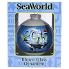 SeaWorld Ornament - 2017 Orca Turtle Sea Lion Dolphin Shark Penguin