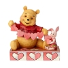 Disney Traditions by Jim Shore - Pooh and Piglet - Handmade Valentines