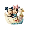 Disney Traditions by Jim Shore - Mickey & Minnie in Swan - Lovebirds