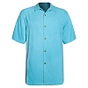 Disney ADULT Shirt - Mickey Mouse Silk Shirt by Tommy Bahama - Blue