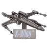 Disney Star Wars Vehicles Pin - #3 XWING Fighter
