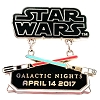Disney Star Wars Pin - Galactic Nights 2017 Logo