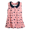 Disney Boutique Women's Tank Top - Mickey & Minnie Icons Hearts - Pink