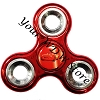Disney Hand Spinner Toy - Fidget Spinnerz - CARS 3 - Lightning McQueen