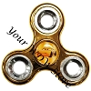 Disney Hand Spinner Toy - Fidget Spinnerz - CARS 3 - Cruz Ramirez
