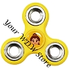 Disney Hand Spinner Toy - Fidget Spinnerz - Emoji Blitz - Princess Belle