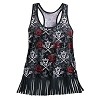 Disney Boutique Women's Tank Top - Pirates of Caribbean Fringed