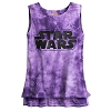 Disney Boutique Women's Tank Tee - Star Wars Logo Tie-Dye