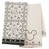 Disney Kitchen Dish Towels - Mickey Mouse Icon - Set of 2