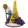 Disney Figurine - Epcot France Pavilion Ratatouille Chef Remy Fromage
