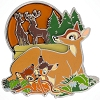 Disney Bambi Pin - 75th Anniversary - Faline and Twins