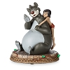 Disney Figurine - Mowgli and Baloo - The Jungle Book - 50th Anniversary
