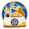 Disney Food & Wine Festival Pin - 2017 Festival Logo Passholder Pin - Lady and Tramp