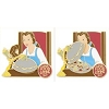 Disney Food & Wine Festival Pin - 2017 Festival Logo Pin - Belle and Lumiere