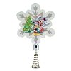 Disney LED Tree Topper - Mickey and Minnie Snowflake Holidazzler