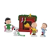 Dept. 56 Figure Set - Peanuts Christmas - Stockings Were Hung