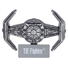 Disney Star Wars Vehicles Pin - #4 Tie Fighter
