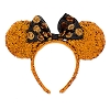 Disney Ears Headband - Minnie Mouse Halloween Ears Sequined Headband