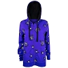 Disney Ladies Hoodie - 2017 Minnie Witch and Skull Cameo Bows