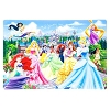 Disney Placemat - Lenticular Disney Princesses and Castles