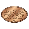 Disney Pressed Penny - Star Wars - Logo