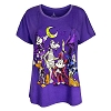 Disney Ladies Shirt - Halloween Mickey and Friends Dolman
