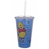 Disney Tumbler with Straw - Epcot World Showcase UK - Winnie the Pooh