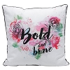 Disney Pillow - Beauty and the Beast - Floral Hearts