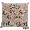 Harry Potter Woven Tapestry Pillow - I Solemnly Swear...
