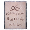 Harry Potter Woven Tapestry Throw Blanket - I Solemnly Swear...