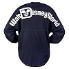 Disney Women's Shirt - Walt Disney World Spirit Jersey - Navy