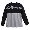 Disney Adult Shirt - Walt Disney World Spirit Jersey - Black and Gray