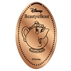 Disney Pressed Penny - Beauty Beast Set - Mrs Potts