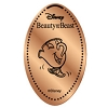 Disney Pressed Penny - Beauty Beast Set - Chip