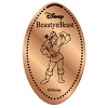 Disney Pressed Penny - Beauty Beast Set - Gaston