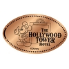 Disney Pressed Penny - Tower Hotel - Bellhop Mickey