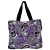 Disney Tote Bag - Haunted Mansion Flocked Print
