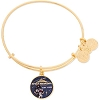 Disney Alex and Ani Bracelet - Space Mountain Est. 1977 - Gold
