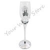 Disney Champagne Flute - Love is Magical Castle Wedding