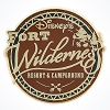 Disney Resort Pin - Disney Fort Wilderness Logo