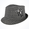 Disney Hat - Jack Skellington Fedora Hat - Youth