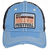 Disney Baseball Cap - 2017 Epcot Food and Wine Logo - Blue