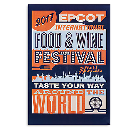 Epcot Food And Wine Festival Poster