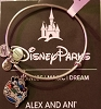 Disney Alex and Ani Bracelet - Love Is An Adventure - Silver