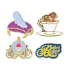 Disney 4 Pin Set - Cinderella Icons - Glass Slipper Carriage